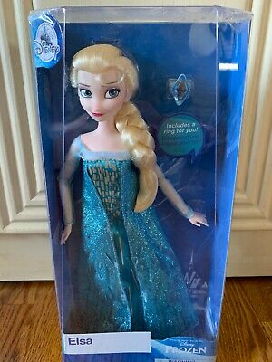 11 1//2 Inch Disney Frozen Anna Classic Doll with Ring Frozen
