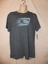 mens O'Neill surfer  t-shirt M nwt  speed blur blue heather