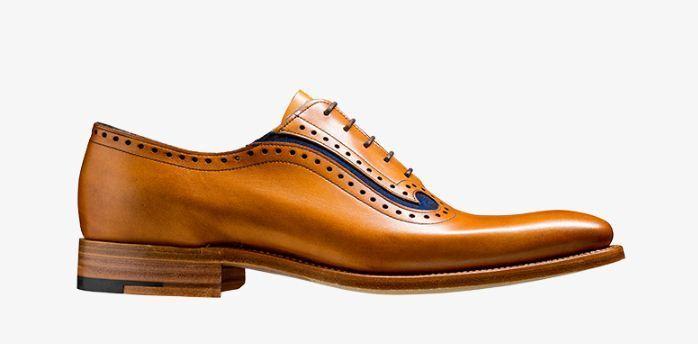 Hecho a mano para hombres Cuero Genuino De Bronceado & azul Suede Formal Boda Zapatos