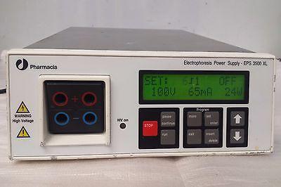 Pharmacia Biotech EPS 3500 XL Programmable Electrophoresis Power Supply Unit PSU
