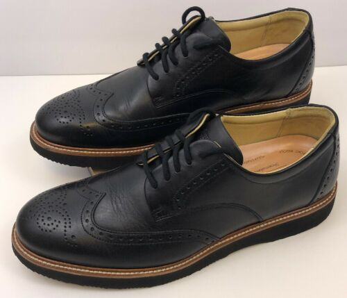 Samuel Hubbard Tipping Point Oxfords Size 9 Black