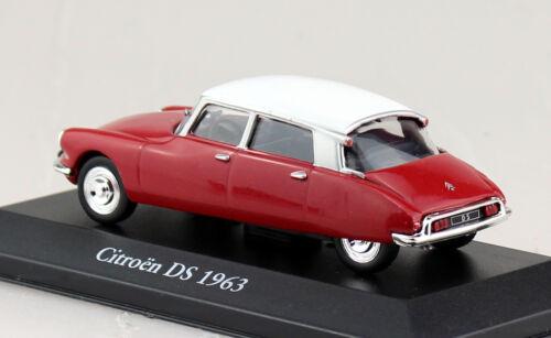 Citroen DS rot 1963 1:43 Atlas Modellauto