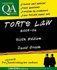 Torts Law Q&A: 2005-2006 by Ernest Pitchfork (Paperback, 2005)