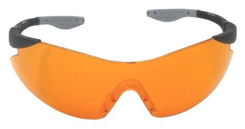 Target Shooting Safety Glasses Orange Shatterproof UV400 Lens