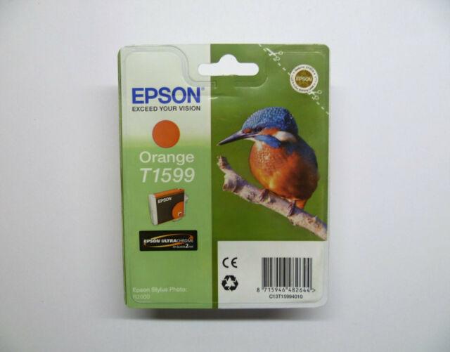 Epson T1599 orange Eisvogel Stylus Photo Foto R2000 --------- OVP 10/2020