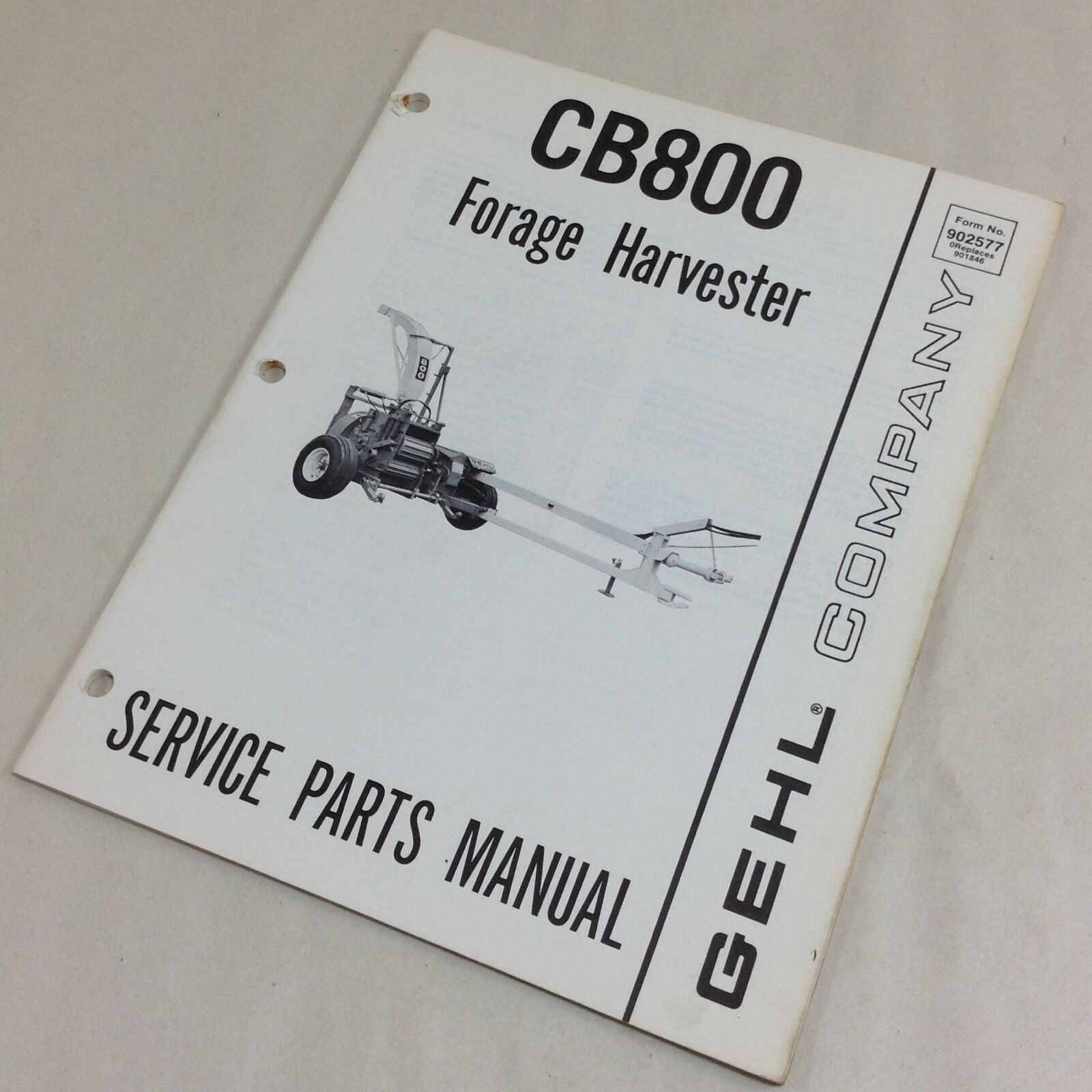 Gehl Cb800 Cb 800 Forage Harvester Parts Manual Ebay Helicopter Diagram Norton Secured Powered By Verisign