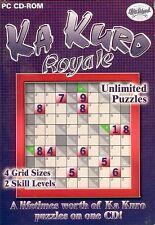 Ka Kuro Royale PC Games Windows 10 8 7 Vista XP Computer sudoku puzzle numbers