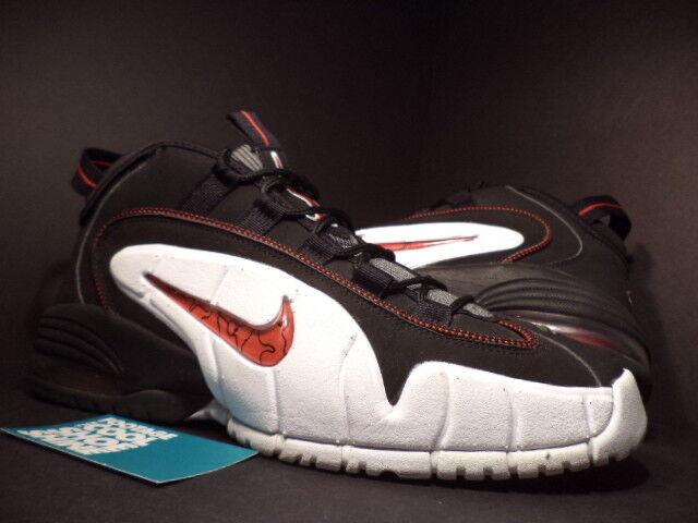 2007 nike air max penny un 1 chicago bulls nero - bianco - rosso grigio 311089-061