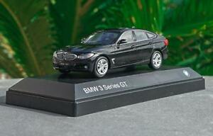 1:43 BMW 3 Series GT Black DieCast Model Collection