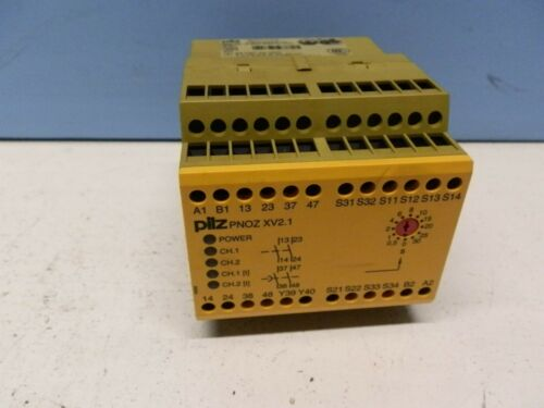 Details about  /PILZ SAFETY RELAY PNOZ XV2.1 30 774510