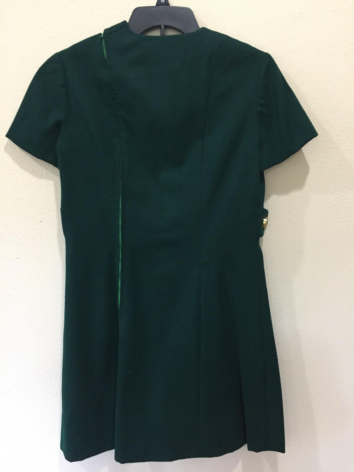 Vintage Vogue Couturier Design Wool Dress Small D… - image 2
