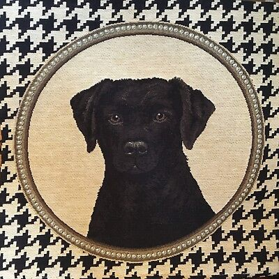 New FS Home Collections Bulldog Pillow Cover 12x12