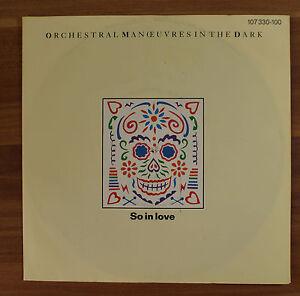 Single-7-034-VINYL-Orchestral-Manoeuvres-in-the-dark-cosi-in-Love-1985