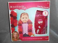 American Girl Doll Crafts Pom Pom Scarve Kit