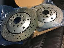 Audi RS6 REAR OE spec Left & Right brake rotors, 4B3615601C, 4B3615602A, Germany