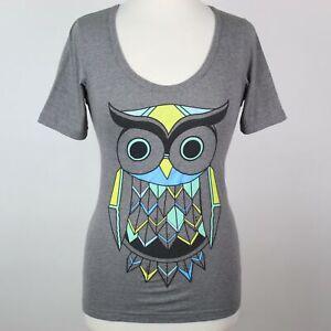 Women\u2019s Small Owl T-Shirt Fifth Sun