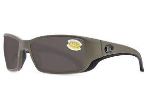 e0f2297821 Costa Del Mar Blackfin Matte Moss   Gray 580 Plastic 580P - NEW ...