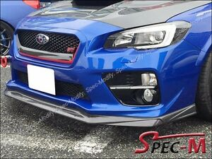 2015 2016 subaru sti wrx vr type carbon fiber front bumper. Black Bedroom Furniture Sets. Home Design Ideas