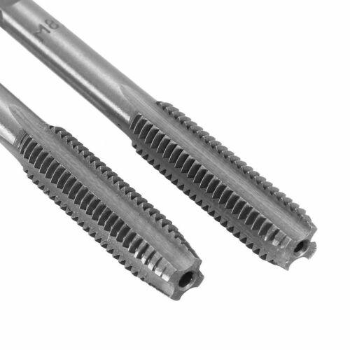 2Pcs M3-M12 Métrique Main Droite HSS Thread Tap Plug diverses tailles disp SKU1420