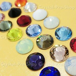 ss7 Genuine Swarovski ( NO Hotfix ) Crystal FLATBACK Rhinestones 7ss 2.2mm set1