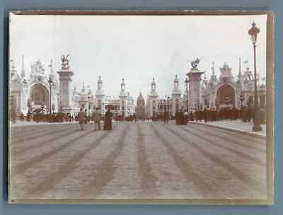 Systematisch France, Exposition Universelle De Paris 1900 Vintage Citrate Print. Tirage Ci Verkoopprijs