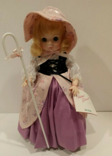 "Madame Alexander ""Bo Peep"" 14"" Hang Tags No Box"