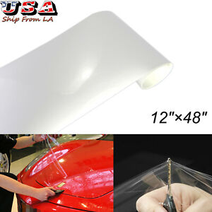 3M Clear Paint Protection Vinyl Film 2 Inch x 48 Inch