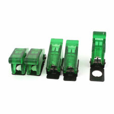 5pcs Green Waterproof Toggle Switch Cover Flip Safety Protection Cap 12mm