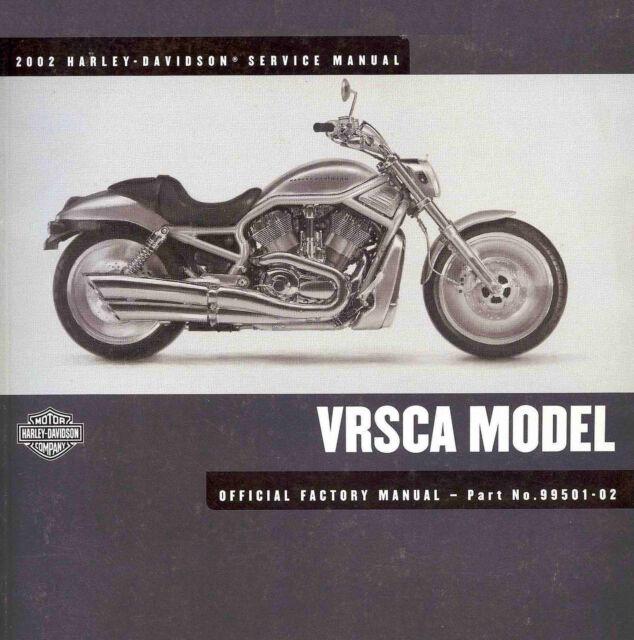 2002 Harley-davidson Vrsca V-rod Service Manual