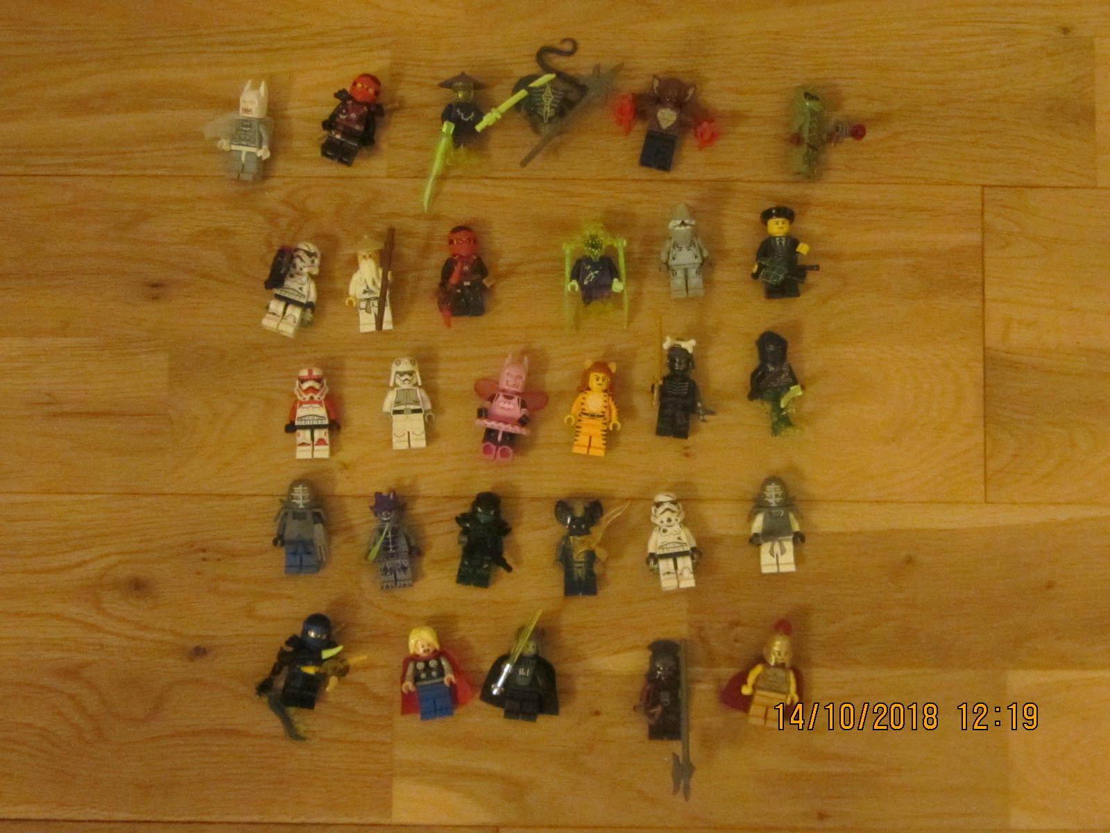 29 LEGO MINIcifraS MINI cifra Job Lotto Bundle ninjaco Batuomo  estrella guerras THOR  buon prezzo