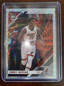 Jimmy-Butler-2019-20-Donruss-Optic-SILVER-PRIZM-WAVE-No-11-MIAMI-HEAT