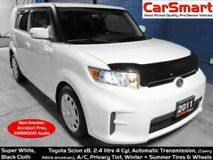 2011 Scion xB 5dr Auto, 4 cyl, A/C, Summer + Winter Tires/Wheels