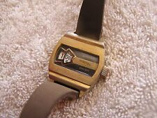 Vintage Retro Swiss Bercona Digital Wrist Watch