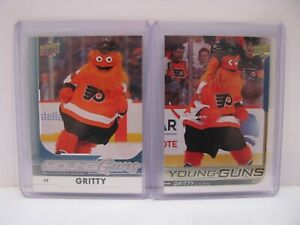 Young-Guns-GRITTY-Rookie-SP-Authentic-Gold-Foil-Original-Philadelphia-Flyers