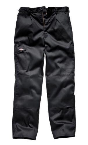 Dickies WD884 Nero Pantaloni Da Lavoro Redhawk W32 piccoli libero consegna il giorno successivo