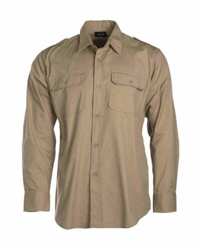 MIL-TEC tropicale Camicia 1//1 braccio Cotton Cachi tempo libero
