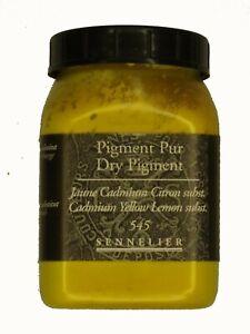 Sennelier-Artist-Quality-Dry-Pigment-Cadmium-Lemon-Yellow-Hue-amp-free-delivery
