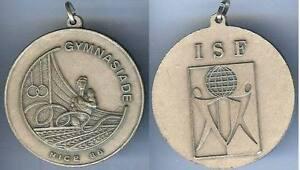 Gymnastique - Nice 1986 Gymnasiade Isf D=50 Mm Douceur AgréAble