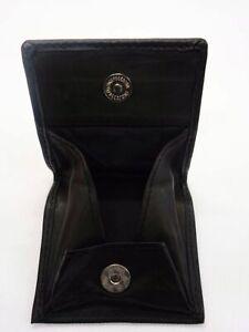 Distingué Homme Coin Wallet Purse Coin Changer Sac Plateau Noir Carré Couleurs Porte-monnaie-afficher Le Titre D'origine
