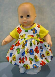 15-034-Doll-Clothes-Bears-on-Alphabets-Back-to-School-Jumper-Outfit-by-Jane-Ellen