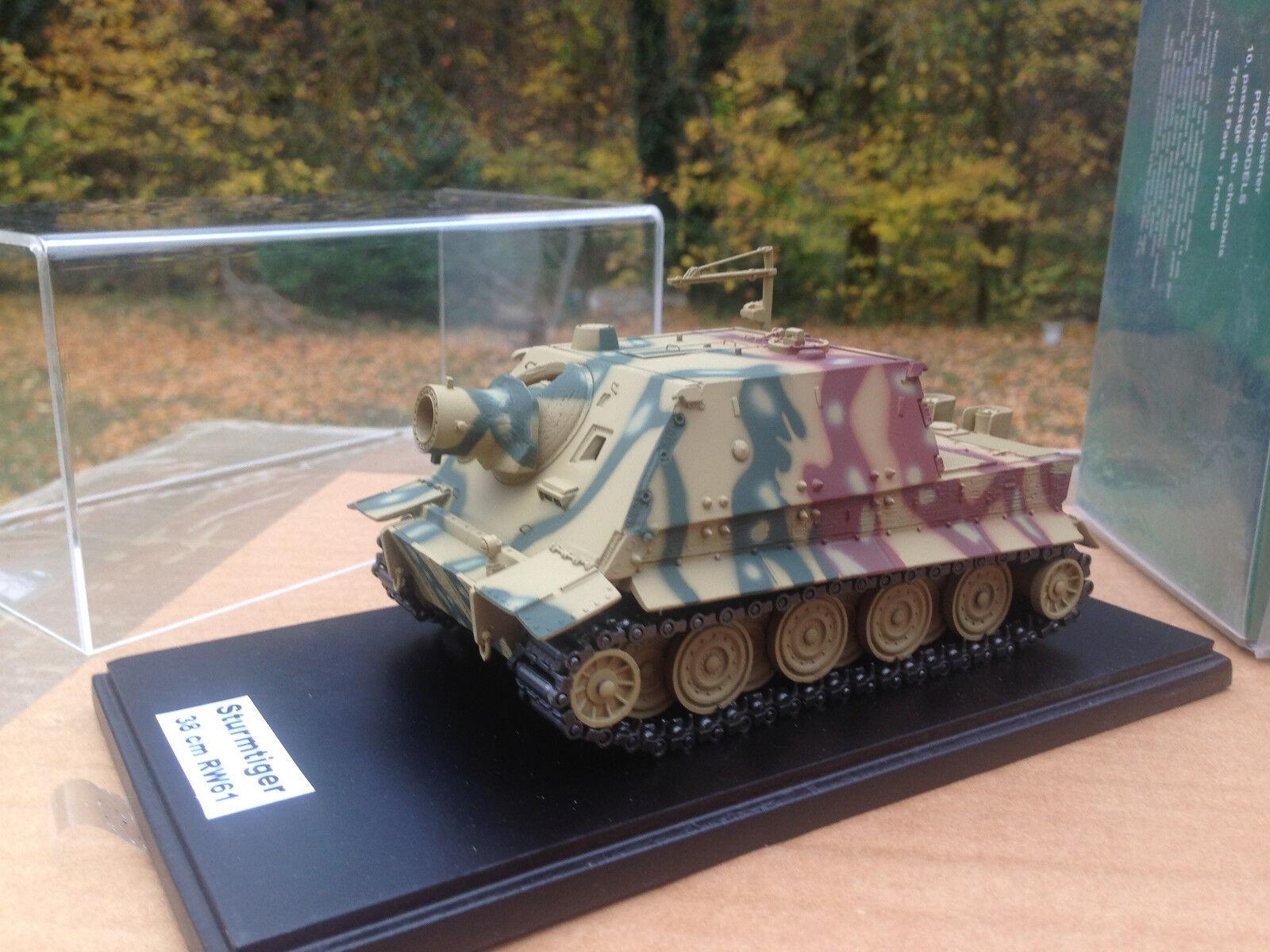MASTER FIGHTER 1/48 CHAR ALLEMAND TANK STURMTIGER 38 cm RW61 1944  ref48547