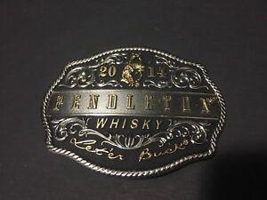 Pendleton-Whisky-2014-Cowboy-Belt-Buckle-Montana-Silversmiths