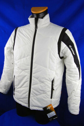 ZIENER Warm Windproof Ladies Quilted Jacket Primaloft Juneau White 01 gr.38 NEW