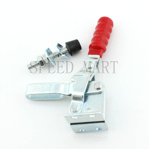 4x GH-101-D 180Kg 403 Lbs Capacity Quick Holding Vertical Type Toggle Clamp