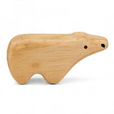 Polar Bear  Shaker Rattle by Hohner Green Tones Qty: 1-BPA Free-Eco-Friendly