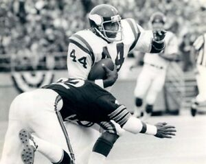 1974-Minnesota-Vikings-CHUCK-FOREMAN-Vintage-8x10-Photo-NFL-Football-Print