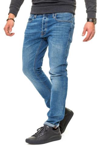 Jack /& Jones Herren Slim Fit Jeans Stretch Denim Herrenhose Jeanshose Hose