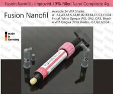 WO (White Opaque) Dental Nano Composite 79% Filled Light Cured Fine Hybrid, 4g
