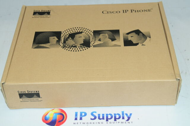 *New* Cisco CP-7910G Unified VoIP IP Telephone Phone PoE 6MthWty TaxInv
