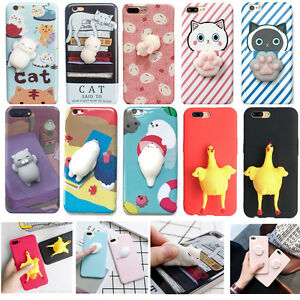 Lovely-Squishy-Cover-For-iPhone-X-8-6s-7-3D-case-Kneading-Polar-Bear-Phone-Case